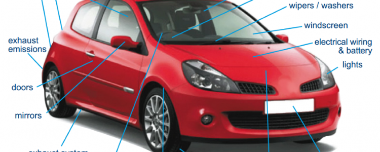 What is checked during a MOT