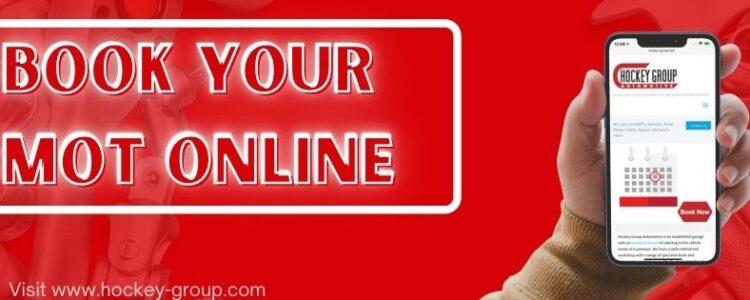 Book your MOT online
